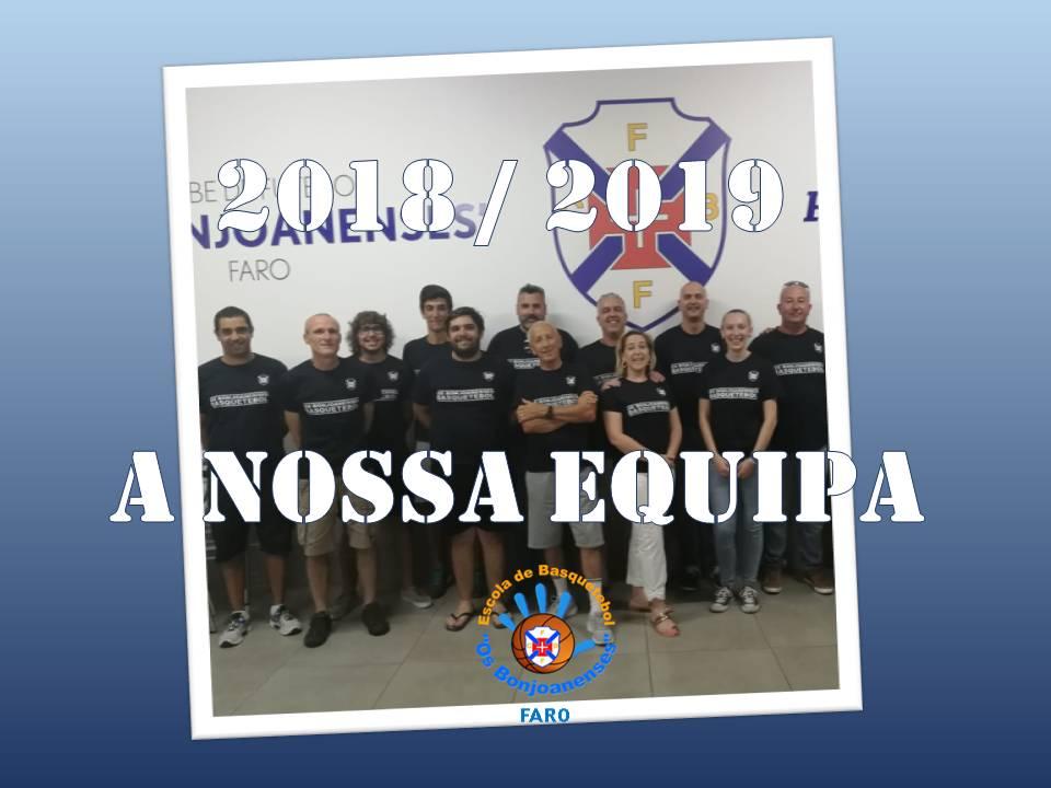 Seção Basquetebol – Época Desportiva 2018/2019