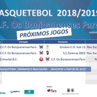 Agenda Semanal da Secção de Basquetebol