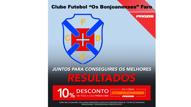 """A Prozis, empresa líder na Europa em suplementação desportiva, é o novo parceiro do C.F. """"Os Bonjoanenses"""" Faro"""