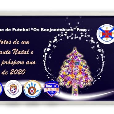 Bom Natal e um ano de 2020 cheio de prosperidade