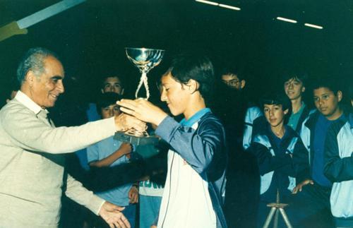 Entrega de Trofeu 87-88